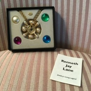 Kenneth Jay Lane Jewelry - Kenneth Jay Lane (KJL) signed necklace